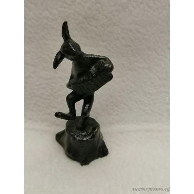Подсвечники на пианино, бронза. Ар Нуво, модерн, конец XIX века.