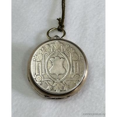 Часы карманные мужские, 3-х крышечные. Серебро 84 пробы. Георг Фавр Жако Локль.